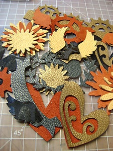 Die cuts don't have to be paper!