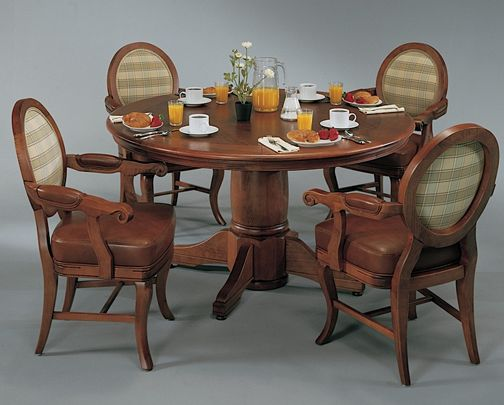 DARAFEEV, FINE FURNITURE MAKER, MADE IN USA Our Showroom - Poker/Dining Tables - another shot of the Algonquin