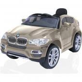 R-Toys электромобиль r-toys bmw x6  — 22099р. ------------------ производитель: rich toys  особенности детского электромобиля rich toys bmw x6 rt 258: детский электромобиль rich toys bmw x6 rt 258 — новинка 2014 года, которая вызовет неописуемый восторг у каждого ребенка. открывающиеся боковые двери машины, значок bmw на руле, боковые зеркала, ветровое оргстекло, неоновая подсветка, реалистичная панель приборов и хромированные диски — детский электромобиль рич тойс бмв икс 6 является точной…