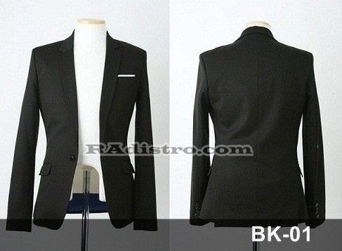 jual jas blazer jaket korea murah online (bk 01)