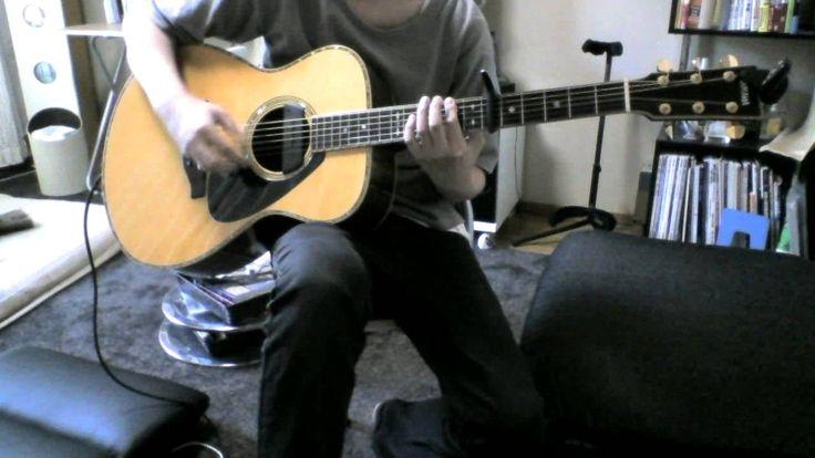 田中彬博 「flower」 Akihiro Tanaka guitar cover - acoustic fingerstyle guitar song - fingerstyle guitar tab