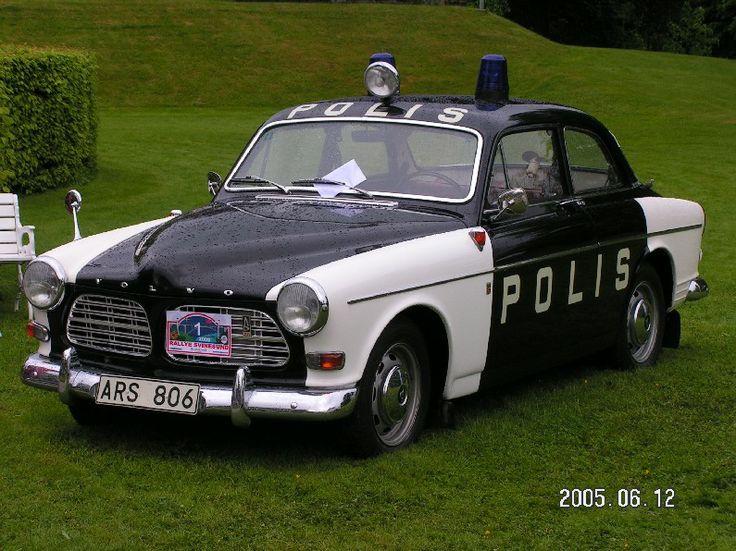 Volvo Amazon Swedish policecar