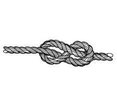 Figure eight knot tattoo