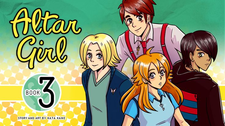 Altar Girl - Book 3 by Kata Kane —  Kickstarter
