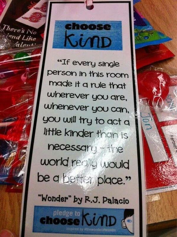 Kind pledge