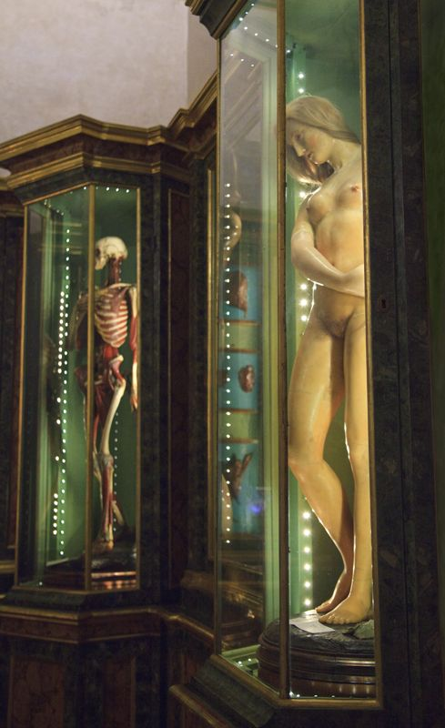 "The exhibition ""Ecstatic Raptures and Immaculate Corpses: Visions of Death Made Beautiful in Italy"""