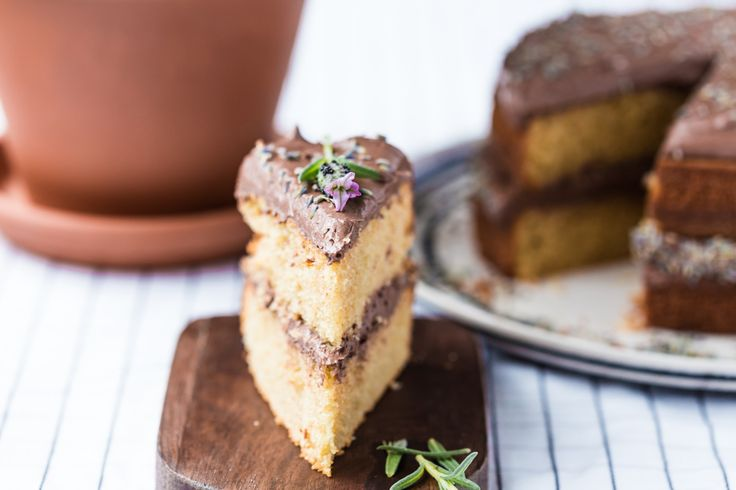 thermomix Earl Grey Lavender Cake