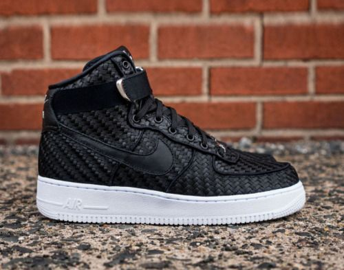 Nike Air Force 1 High LV8 - Woven Shop: InStore Follow What Are Those!