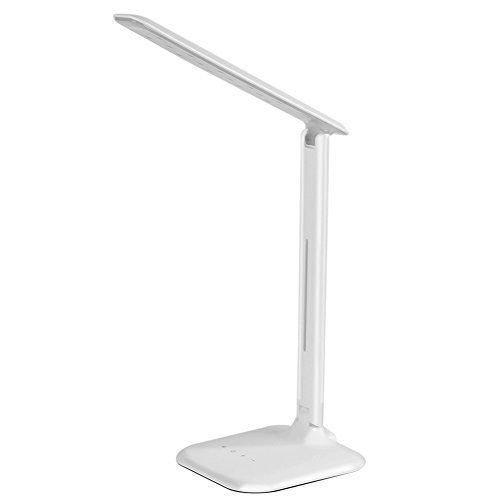 Desktop Lamp HQOON Office Desk Lamp with USB Charging Ports Eye Care LED Reading Light  Bedside Touch Sensor Table Lamps 3 Lighting Modes Brightness Stepless Adjusted  5W desk lamp * Click image to review more details. (This is an affiliate link and I receive a commission for the sales)