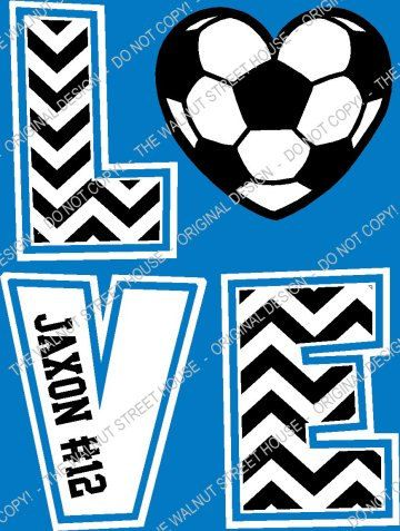 Hey, I found this really awesome Etsy listing at https://www.etsy.com/listing/200264310/soccer-chevron-love-t-shirt-original