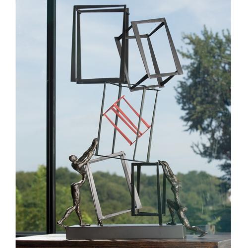 #Design - Building Block Sculpture. #onlineartgallery - #contemporaryart - online art gallery - contemporary art Source : https://www.globalviews.com/product_groups/381?category_id=11