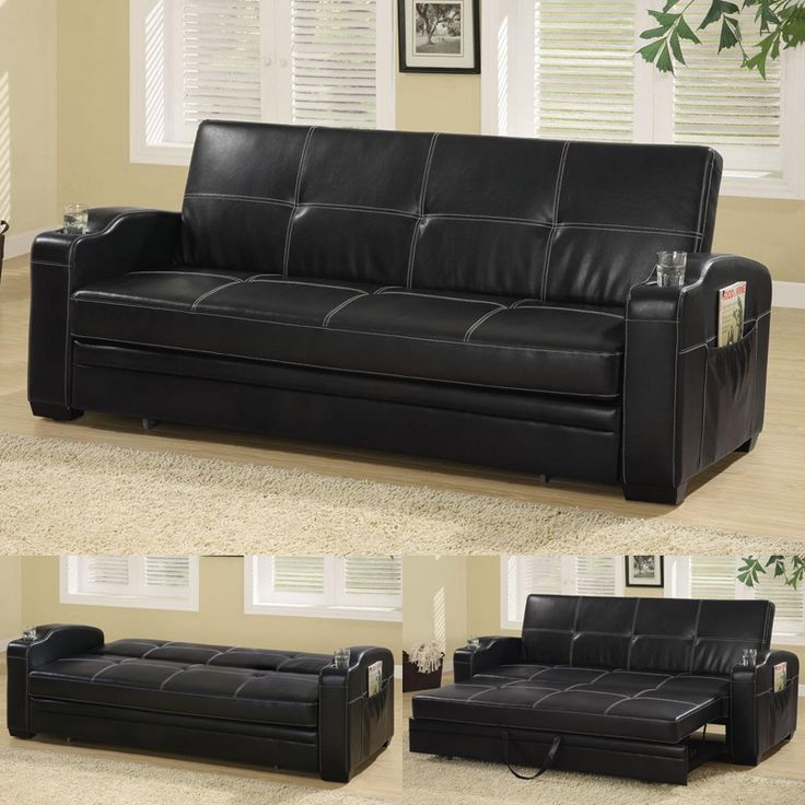 Black Leather Couches best 20+ leather sofa bed ideas on pinterest | brown leather sofa