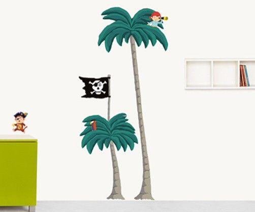 Awesome XXL Wandtattoo Pirat