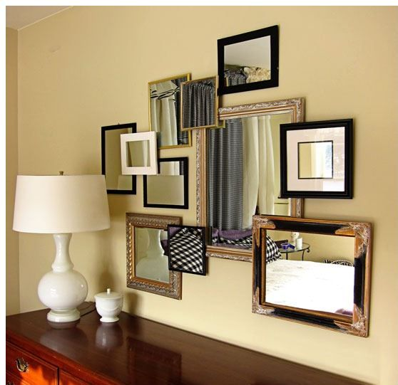 149 best Mirror images on Pinterest | Mirrors, Wall of mirrors and ...