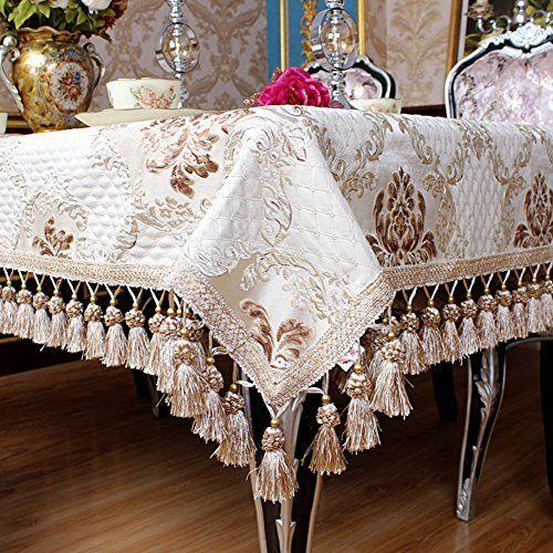 European-style Dining Table Cloth Tea Table Cloth Table Cloth Refrigerator Cover-B 140x180cm(55x71inch)