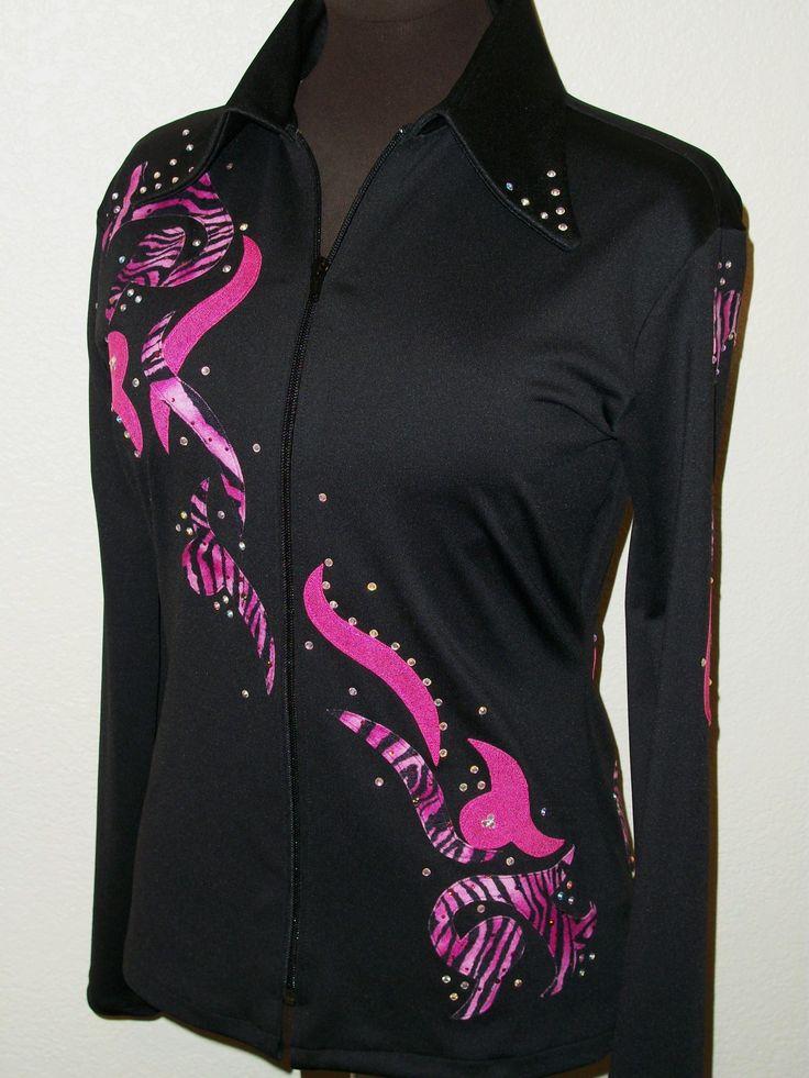 Custom made western horse show clothes by www.westernshowwear.com