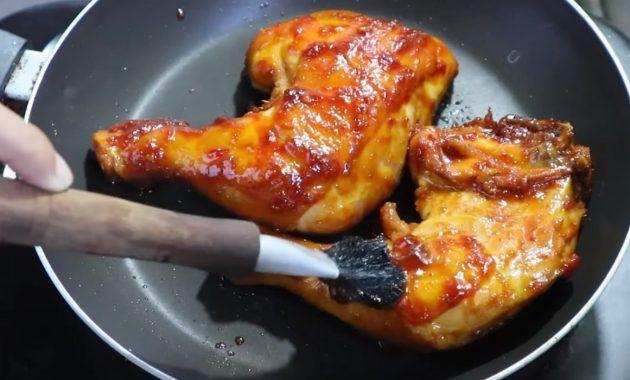 Ayam Bakar Teflon Bumbu Kecap Sederhana Resep Ayam Resep Masakan Indonesia