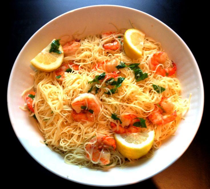 lemony shrimp scampi more shrimp scampi mondays seafood recipes lemony ...