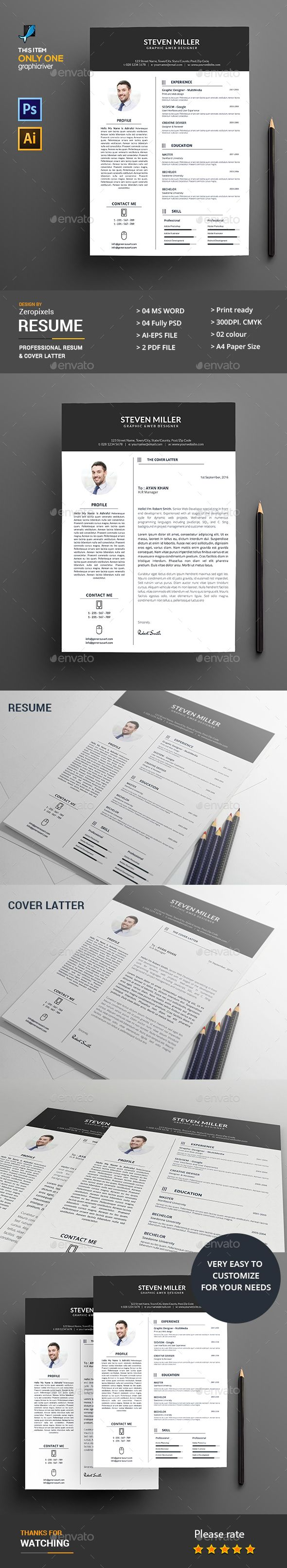 Download Free Resumes Adorable 30 Best Cv Tempelate Images On Pinterest  Resume Templates .
