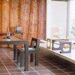 Interieurtrends: de warmte van houten lambrisering