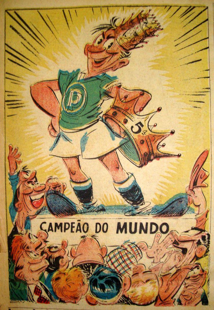 O Palmeiras comemora nesta sexta-feira (22) 65 anos de um dos maiores feitos de sua gloriosa trajetória. Em 22 de julho de 1951, diante da fo...