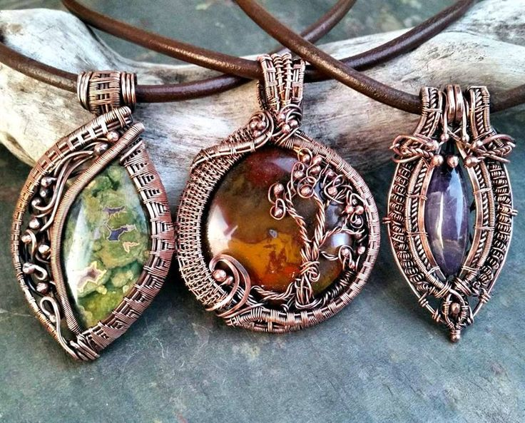 4350 best Pentants Wire images on Pinterest | Wire wrapping, Wire ...