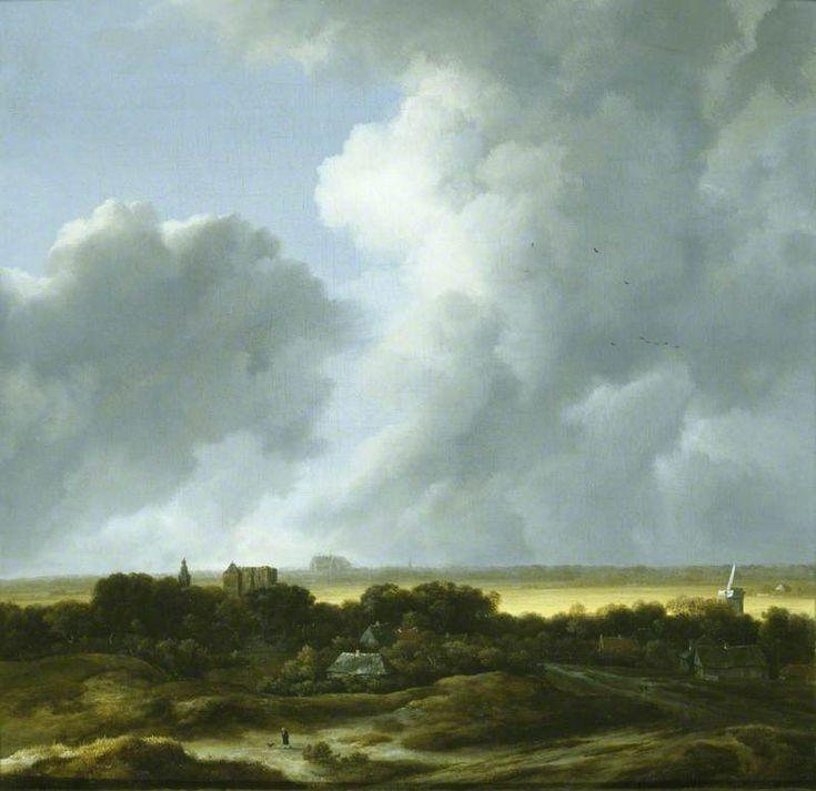 Jacob van Ruisdael - 'Le coup de soleil' (Alkmaar uit het zuidwesten en Egmond)