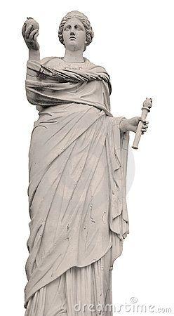 Deméter-Deusa da fertilidade, agricultura, natureza e estações do ano. Símbolos: papoila e cereais.Filha de Cronos e Reia, irmã de Zeus.
