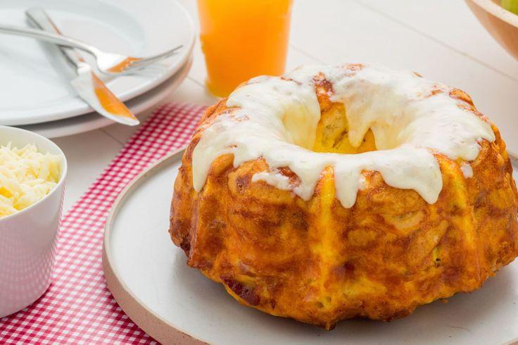 Bacon, Egg, and Cheese Breakfast Bread  - Delish.com