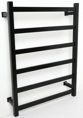 Thermorail Straight/Square Black Heated Towel Rail. 6 Bars Output W 83. Order one now at $569.00. FREE Shipping Australia.