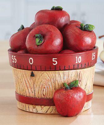 Apple Basket 60-Minute Kitchen Timer...