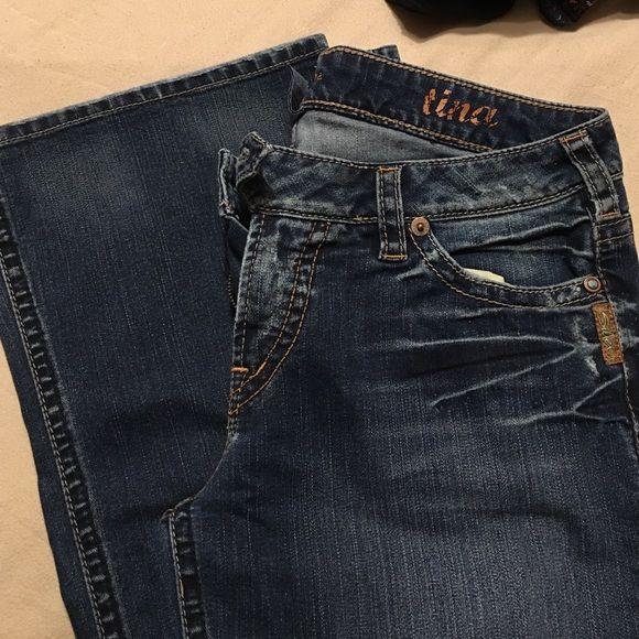 Silver Tina Jeans dark wash