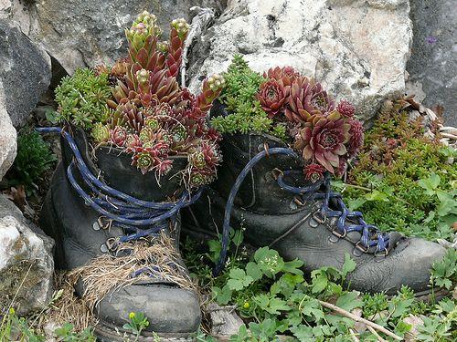 alte Schuhe - recycelt?