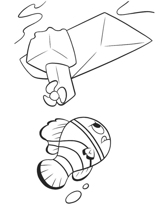 272 best Boys room finding nemo images on Pinterest Finding nemo - new pixar coloring pages finding nemo
