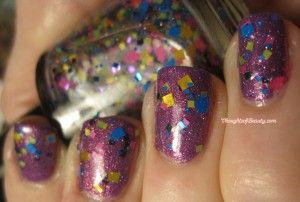 giggly plus glitter top coat