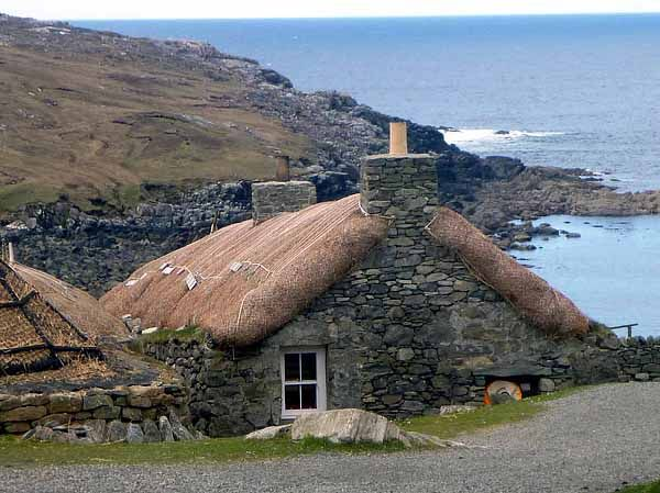 This tiny/small home is located on the Isle of Lewis at the North west corner of the group of Islands known as the Hebrides, or Western Isles in Scotland.
