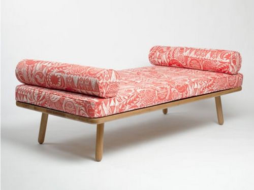 Day Bed Not Loving The Fabric But Love The Simple Lines, Would Also Need  Thicker