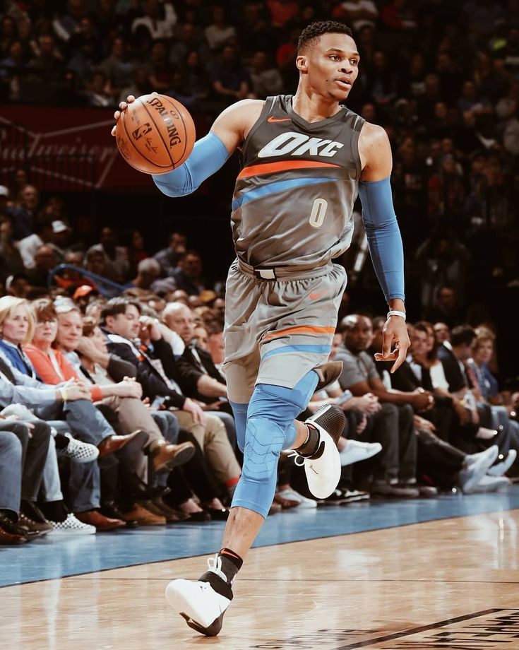 """Russ went crazy tonight, dropping a season-best 46 points in those new OKC threads. Rate those new…"""