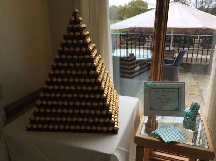 Ferrero Rocher Pyramid Tower