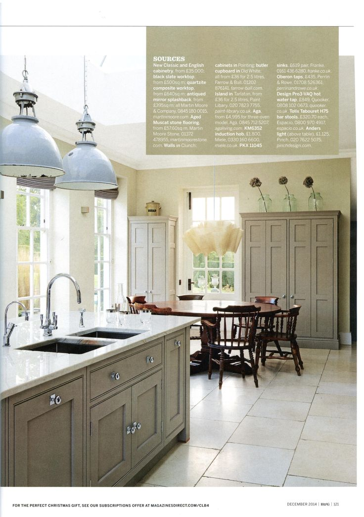 Classic English Style Meets Swedish Minimalism In This Martin Moore Kitchen  Case Study Martinmoore.com