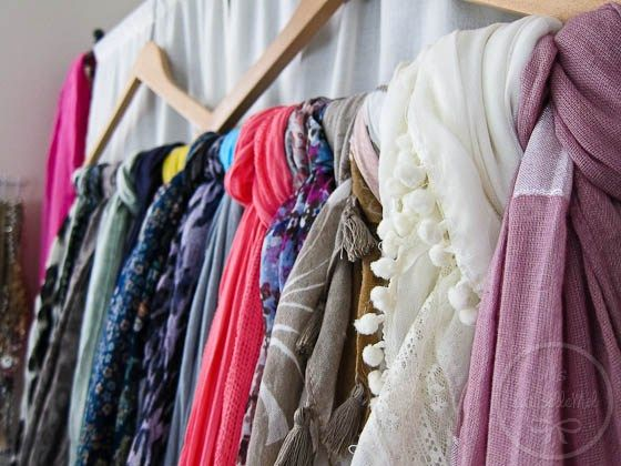 Best 25+ Organize scarves ideas on Pinterest | Scarf organization, Clothes  drawer organization and Dorm room closet