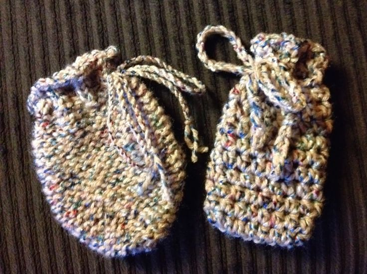 Knitted and Crocheted Soap Bags | soap bags | Pinterest ...