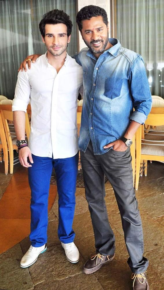 Prabhu Deva and Girish Kumar promote 'Ramaiya Vastavaiya' #Bollywood #Fashion
