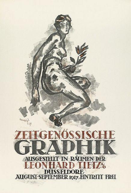 Adolf Uzarski,  Zeitgenoessische Graphik Düsseldorf, 1917