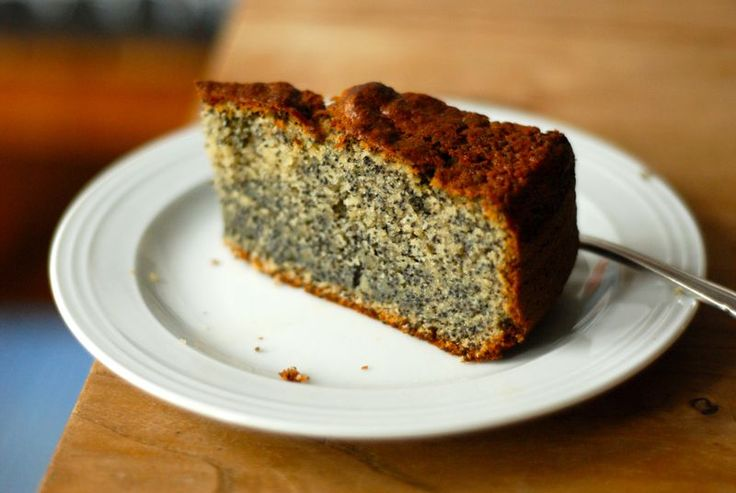 Poppy seed cake on steroids - warning, not recommended for children still in nappies...