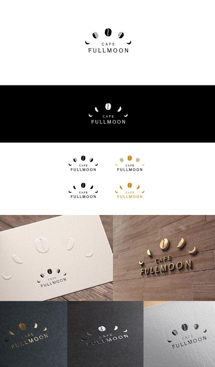 FULLMOON / Design by dnalsdk7 / 달이 차올라 보름달이 되고, 생두를 볶아 원두가 되는, 커피가 되어가는 과정을 보름달과…
