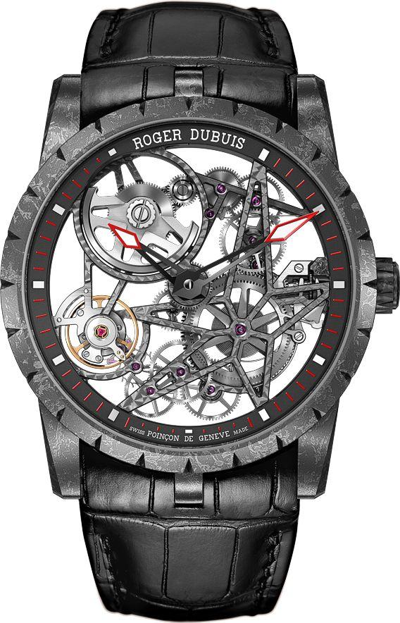 La Cote des Montres : La montre Roger Dubuis Excalibur Squelette Automatique…