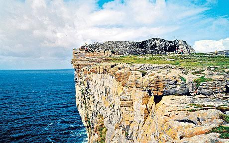 B And B Aran Islands Inis Mor The cliffs of Inis Mór on Aran | Irish Man! | Pinterest
