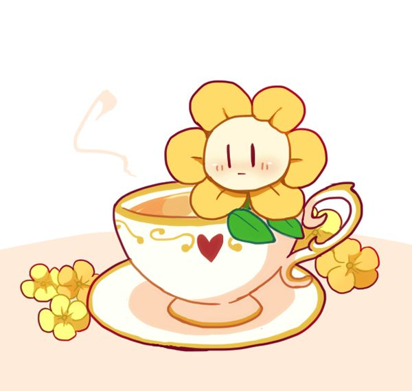 Flowey could be cute too!