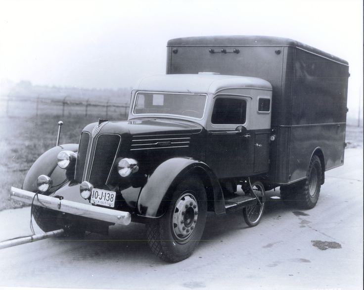 1937 Federal Truck Used For Testing In The Early Days Of Goodyear S San Angelo Proving Ground Old Trucks Vintage Trucks Heavy Duty Trucks